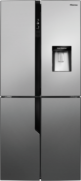 509L QUAD DOOR FRIDGE - STAINLESS STEEL