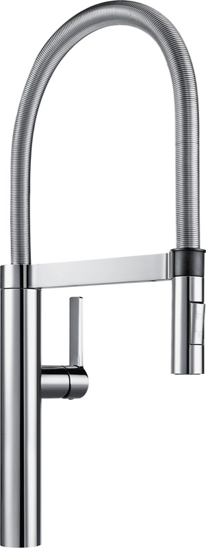 Blanco Single Lever Brushed Mixer Tap - Chrome BLANCOCULINABR