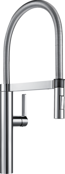 SINGLE LEVER BRUSHED MIXER TAP - CHROME