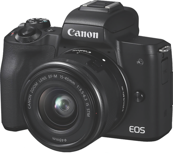 Canon EOS M50 Mirrorless Camera + EFM 15-45mm Lens Kit M50KIS