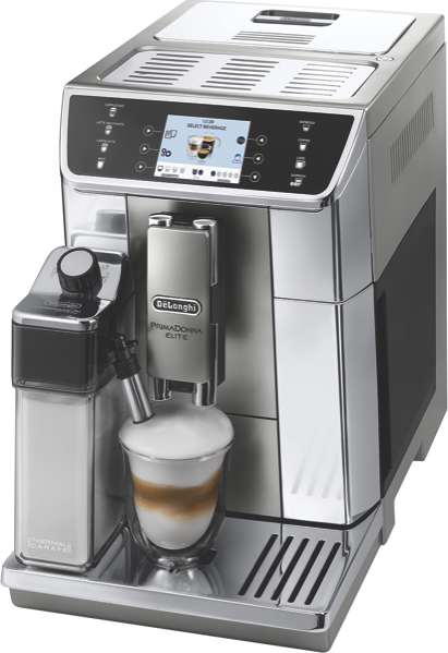 DeLonghi Primadonna Elite Fully Automatic Coffee Machine ECAM65055MS