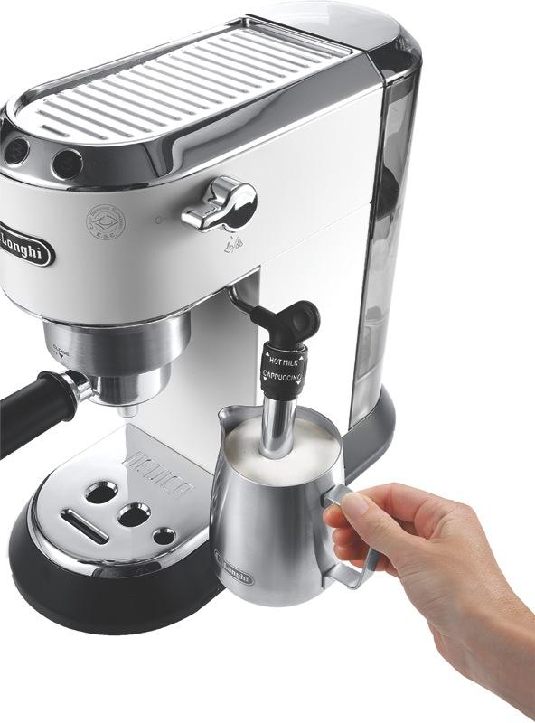 DeLonghi Dedica Pump Espresso Coffee Machine EC685W