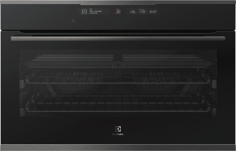 Electrolux 90cm Built-In Pyrolytic Oven - Dark Stainless Steel EVEP916DSD