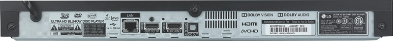 LG Smart 4K UHD Blu-ray Player UBK90