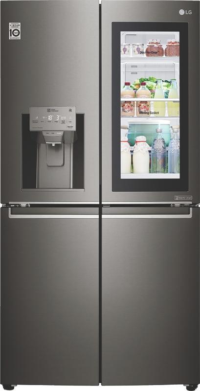 LG 708L French Door Fridge with InstaView Door-In-Door® GFV708BSL