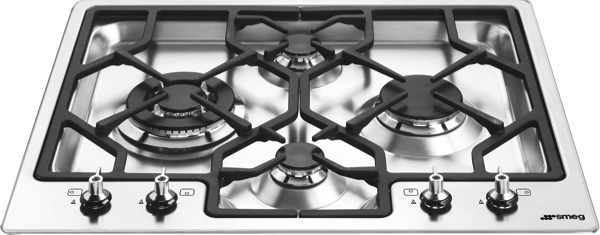 60CM GAS COOKTOP - STAINLESS STEEL