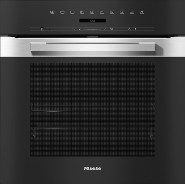 60CM BUILT-IN PYROLYTIC OVEN - CLEAN STEEL