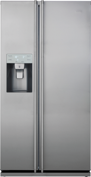 608L SIDE BY SIDE FRIDGE WITH ICE & WATER