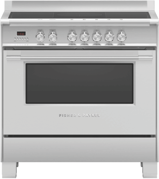 90 CM FREESTANDING ELECTRIC COOKER - STAINLESS STEEL