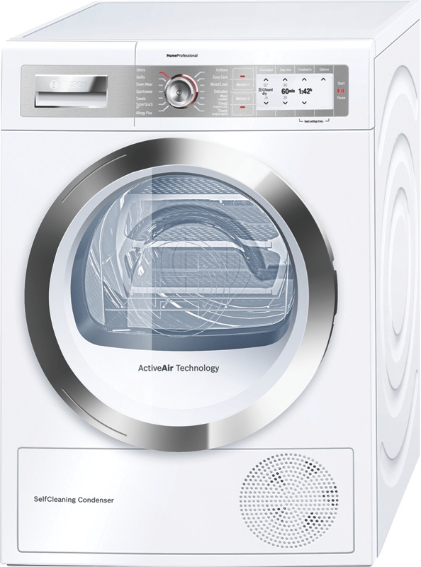 Bosch 9kg Heat Pump Dryer WTY877W0AU