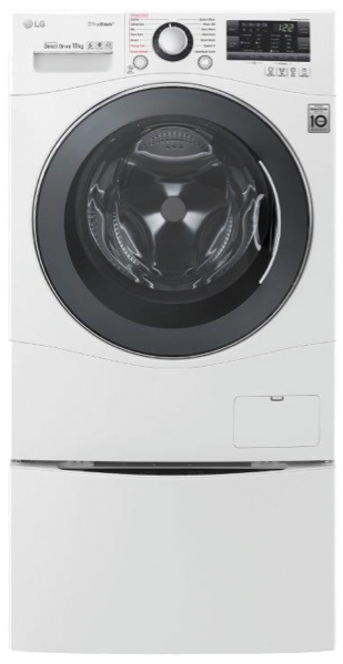 13KG TOTAL WASHING LOAD TWINWASH® SYSTEM INCLUDING LG MINIWASHER