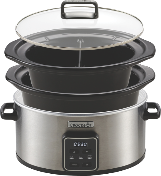 CHOOSE-A-CROCK ONE POT COOKER