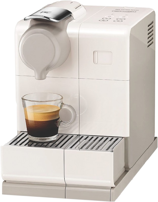 DeLonghi Nespresso Lattissima Touch Pod Machine - White EN560W