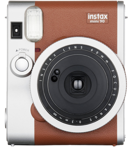 Fujifilm Instax Mini 90 Neo Classic Instant Camera – Brown 84616