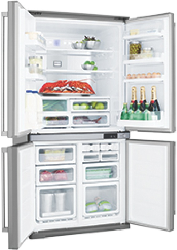 Electrolux 676L Four Door Fridge EQE6807SD