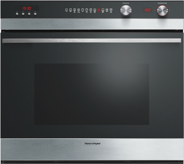76CM BUILT-IN PYROLYTIC OVEN