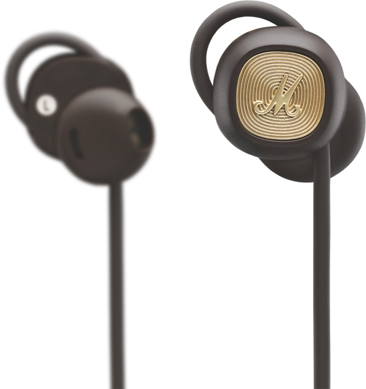 Marshall Minor II Bluetooth Headphones - Brown 04092260