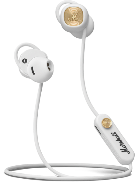 Marshall Minor II Bluetooth Headphones - White 04092261