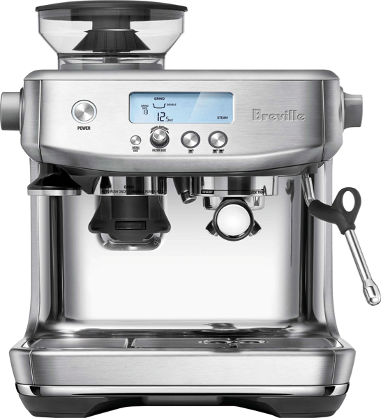 Breville Barista Pro Pump Espresso Coffee Machine - Stainless Steel BES878BSS