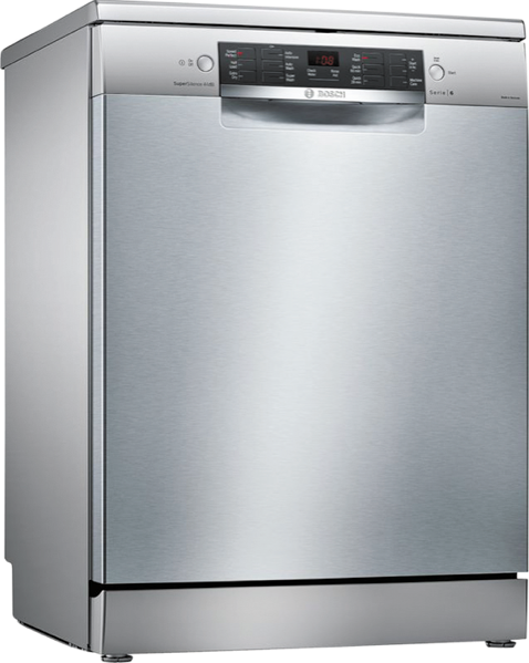 Bosch 60cm Freestanding Dishwasher - Stainless Steel SMS66JI01A