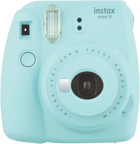 Fujifilm Instant Camera Instax Mini 9 Camera Ice Blue