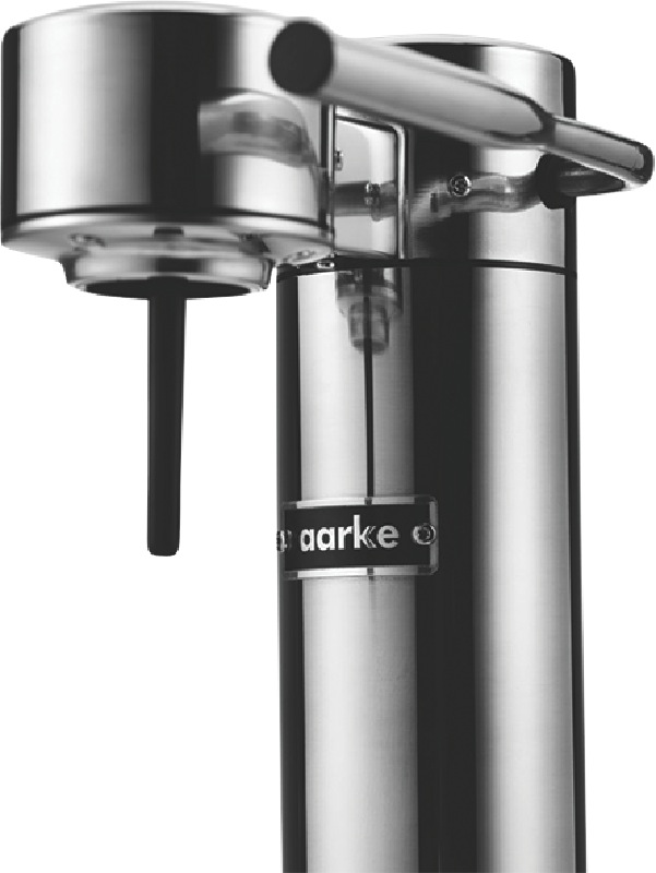 Aarke Sparkling Water Maker - Polished Steel 155298