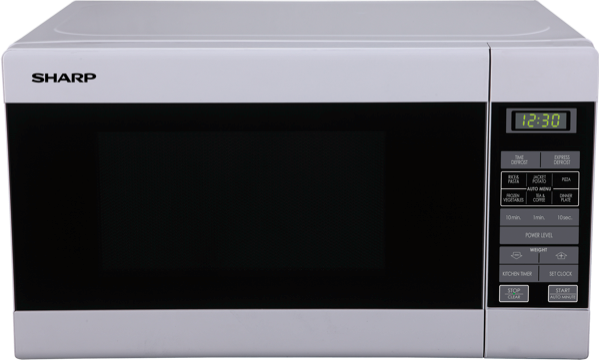 Sharp 750W Compact Microwave - White R210DW