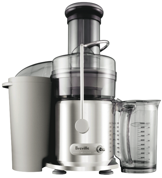 THE JUICE FOUNTAIN MAX JUICER - STAINLESS STEEL