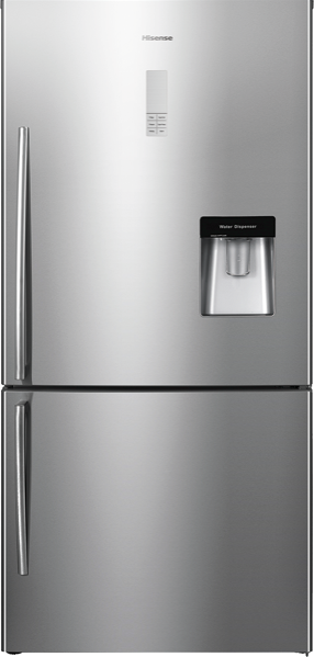 514L BOTTOM MOUNT FRIDGE - STAINLESS STEEL