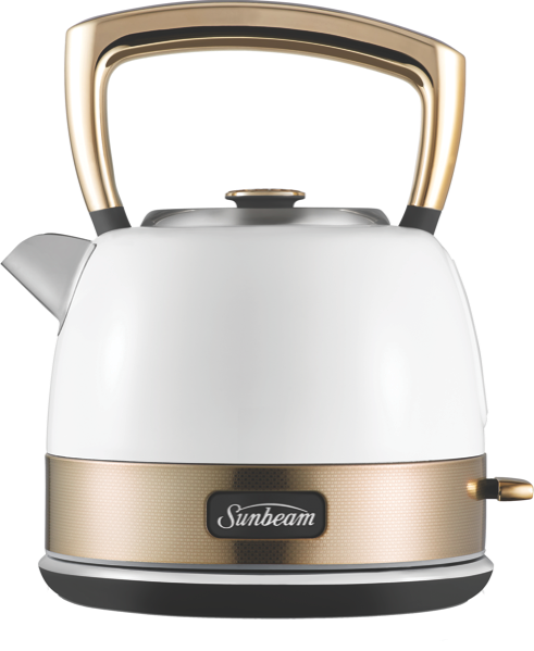 NEW YORK 1.5L KETTLE - WHITE GOLD
