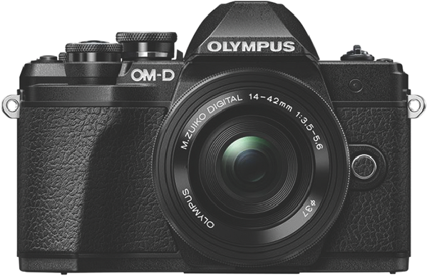 Olympus OM-D E-M10 Mark III Mirrorless Camera + 14-42mm Lens Kit OM-D E-M10 Mark III SLK Black