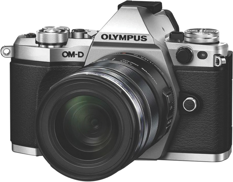Olympus OM-D E-M5 Mark II Mirrorless Camera - Silver OM-D E-M5 Mark II Weather Proof Kit (Silver)