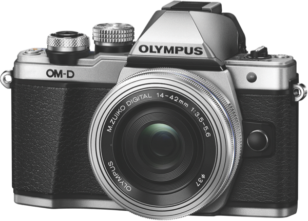 Olympus OM-D E-M10 Mark II Mirrorless Camera - Silver OM-D E-M10 Mark II SLK (Silver)