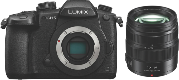 Panasonic Lumix GH5 Mirrorless Camera + 12-35mm Lens Kit DCGH5PRO