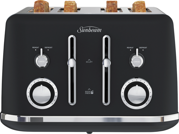 Sunbeam Alinea 4-Slice Toaster - Dark Canyon TA2740K