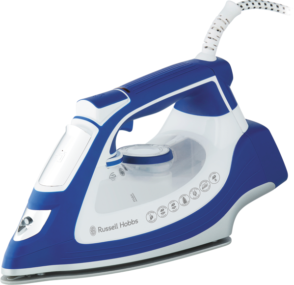 IMPACT STEAM IRON - WHITE/BLUE