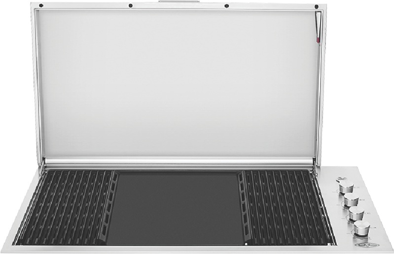 Beefeater Signature ProLine 106cm 6-Burner Built-In BBQ - Stainless Steel BSL158SA