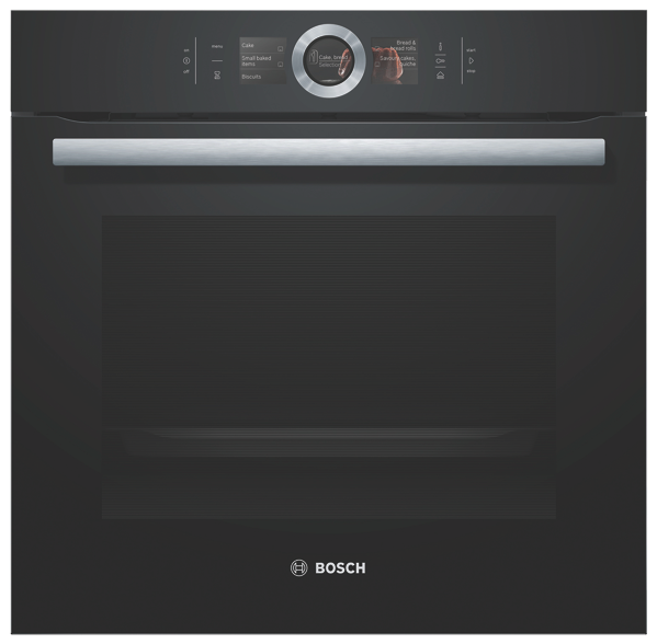 BUILT-IN PYROLYTIC OVEN – BLACK