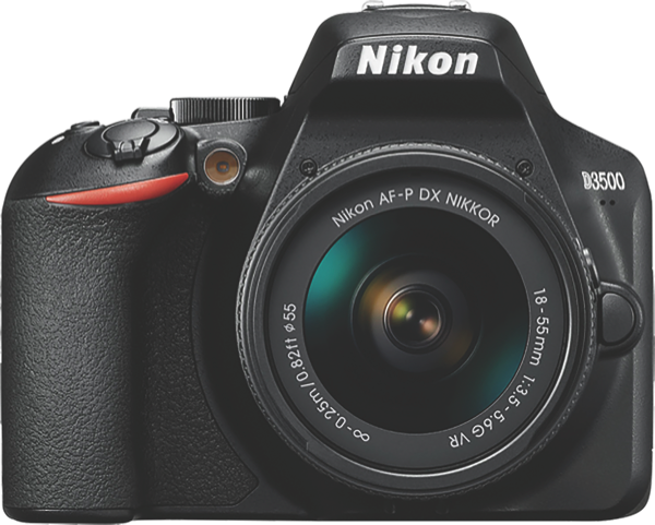 Nikon D3500 Digital SLR Camera + 18-55mm Lens Kit D3500