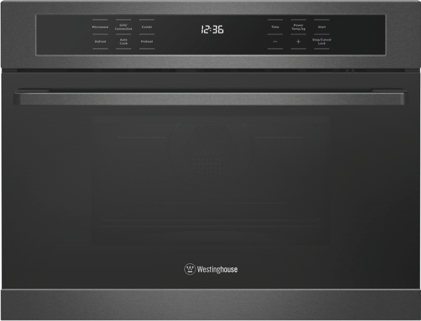 Westinghouse 44L 900W Built-In Combi Microwave - Dark Stainless Steel WMB4425DSC
