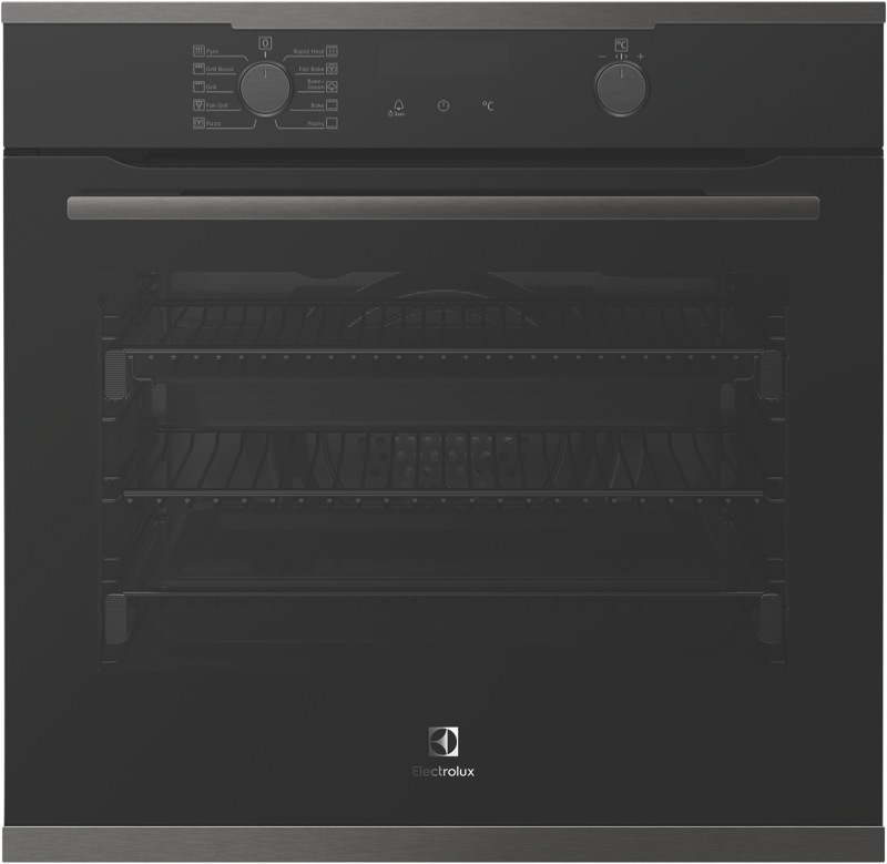 Electrolux 60cm Built-In Pyrolytic Oven - Dark Stainless Steel EVEP614DSD
