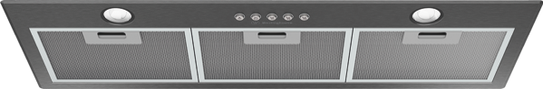 80CM INTEGRATED RANGEHOOD - DARK STAINLESS STEEL
