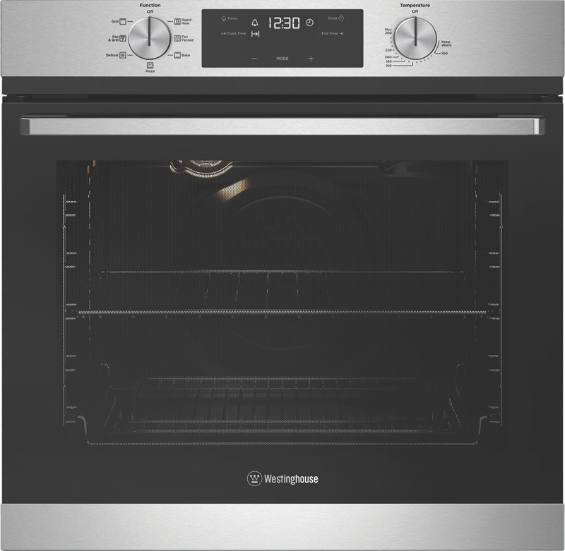 Westinghouse 60cm Built-In Oven - Stainless Steel WVE615SC
