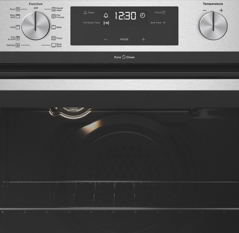 Westinghouse 60cm Built-In Pyrolytic Oven - Stainless Steel WVEP615SC