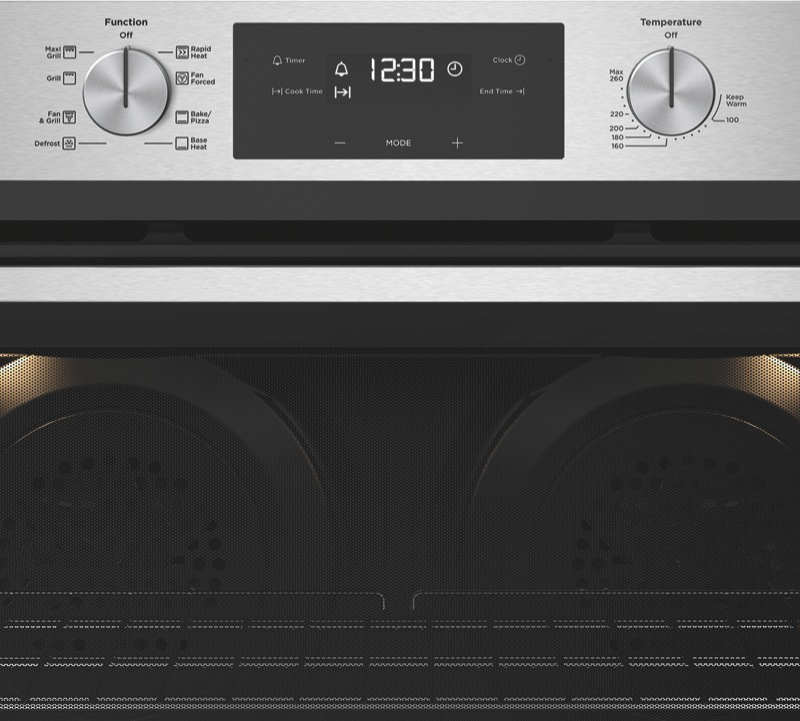 Westinghouse 90cm Built-In Oven - Stainless Steel WVE915SC