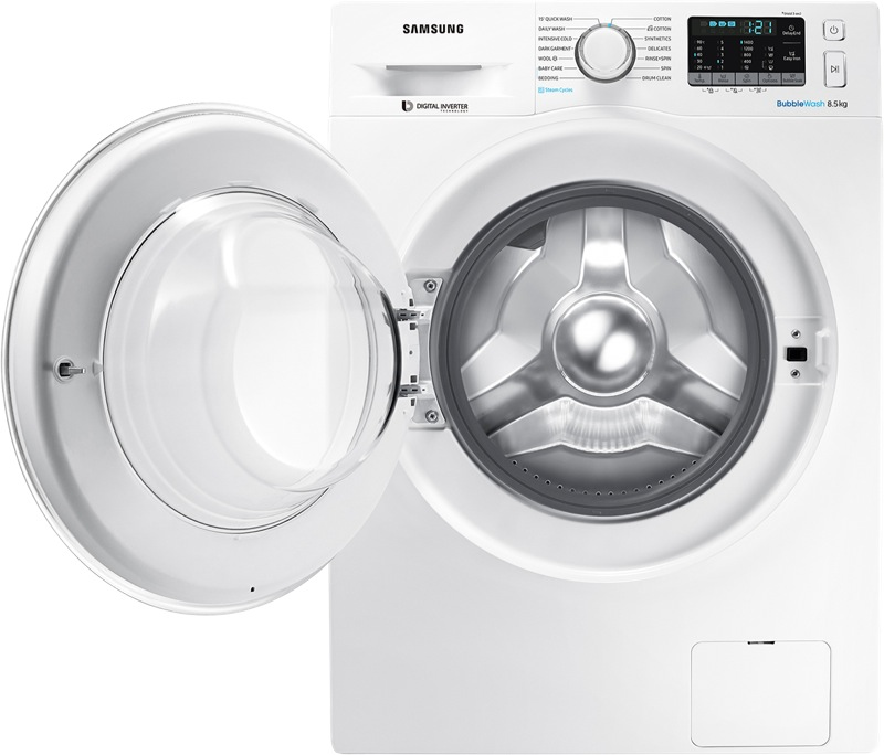 Samsung 8.5kg Front Load Washing Machine WW85J54E0IW