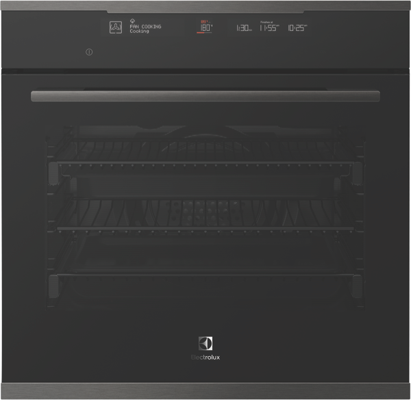 60CM BUILT-IN OVEN - DARK STAINLESS STEEL