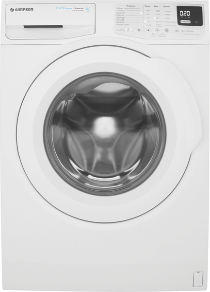 8KG FRONT LOAD WASHING MACHINE
