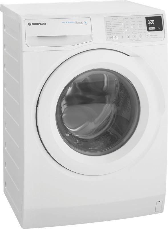 Simpson 8kg Front Load Washing Machine SWF8025DQWA
