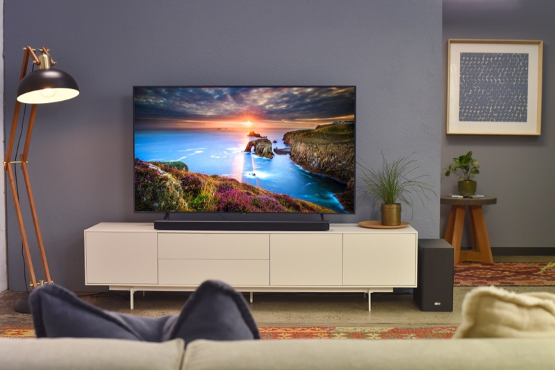 Samsung 55″ 4K Ultra HD Smart QLED TV QA55Q60RAWXXY
